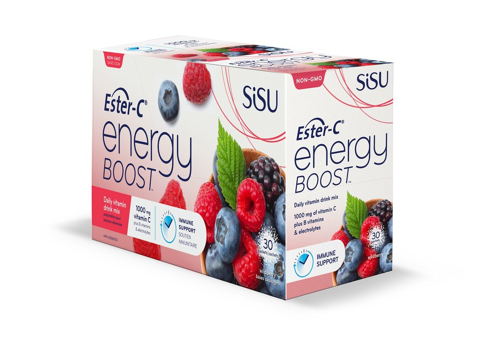 Sisu Ester C Energy Boost